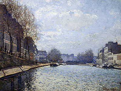 View of the Canal St. Martin