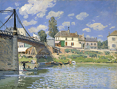 The Bridge at Villeneuve la Garenne