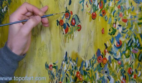 Apple Tree I by Klimt - Painting Reproduction Video