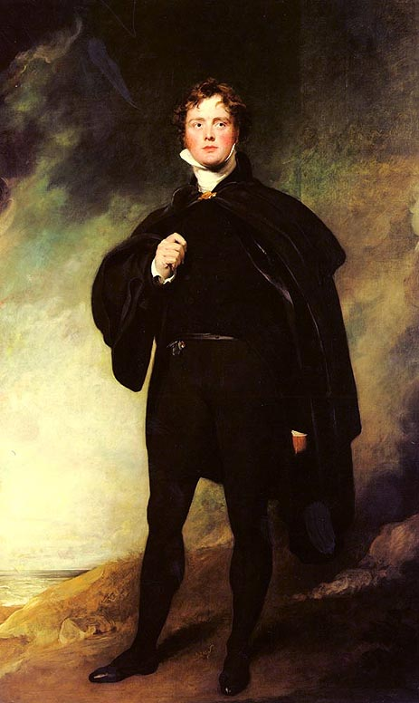 Portrait Of George Nugent Grenville, Lord Nugent