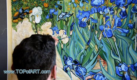 Irises by van Gogh - Painting Reproduction Video