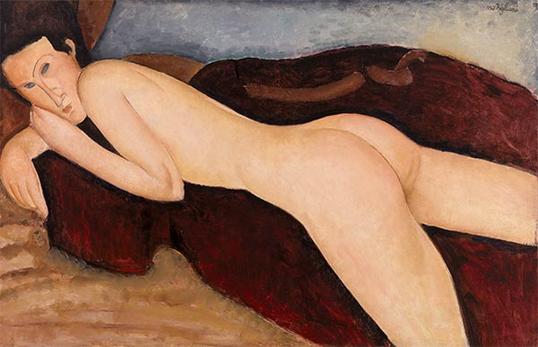 Reclining Nude from the Back (Nu couche de dos)