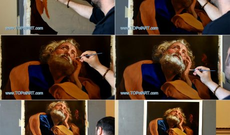Saint Peter by Batoni - Painting Reproduction