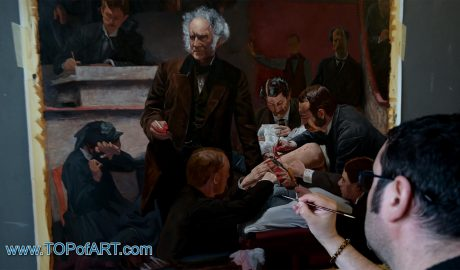 Thomas Eakins - The Gross Clinic, 1875 - Video of the Process of Creation of the Painting